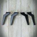nogi stalowe czarne pojedyncze