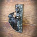 stalowa kołatka do drzwi