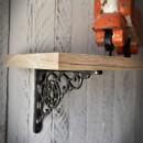 półka drewniana dębowa