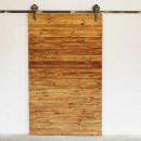 drzwi przesuwne retro drewniane z palet