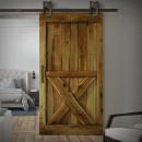 Drzwi na ścianie. Salon i sypialnia