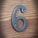 cyfra żeliwna sześć