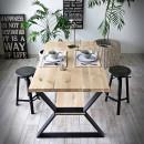 nogi czarne stołowe
