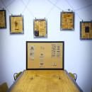 retro rama na tablice korkową