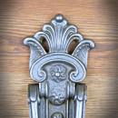 retro kołątka do drzwi