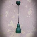 retro lampa zielona