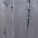 blaty szare z drewna w kolorze szarości