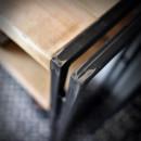 meble stalowe loft i vintage konsola