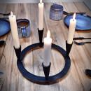 świecznik na dwie świeczki