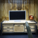 stolik pod telewizor rtv vintage loft