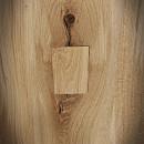 wstawki i łączniki w stołach drewnianych