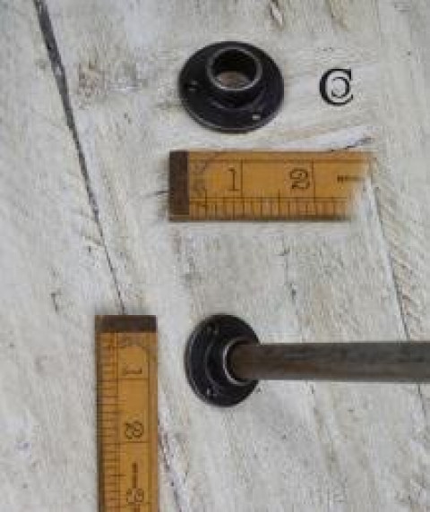 Uchwyt drążka szafy, relingu do systemu modułowego RIG