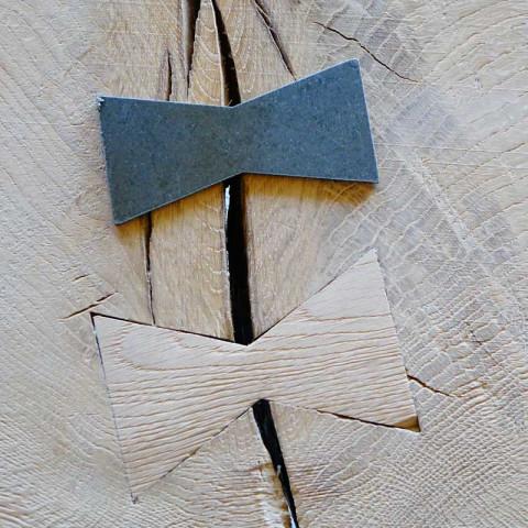 Łącznik do drewna jaskółczy ogon