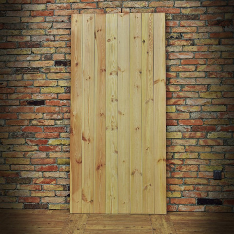 Drzwi drewniane do systemów przesuwnych - 2X