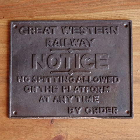 Emblemat GWR NOTICE