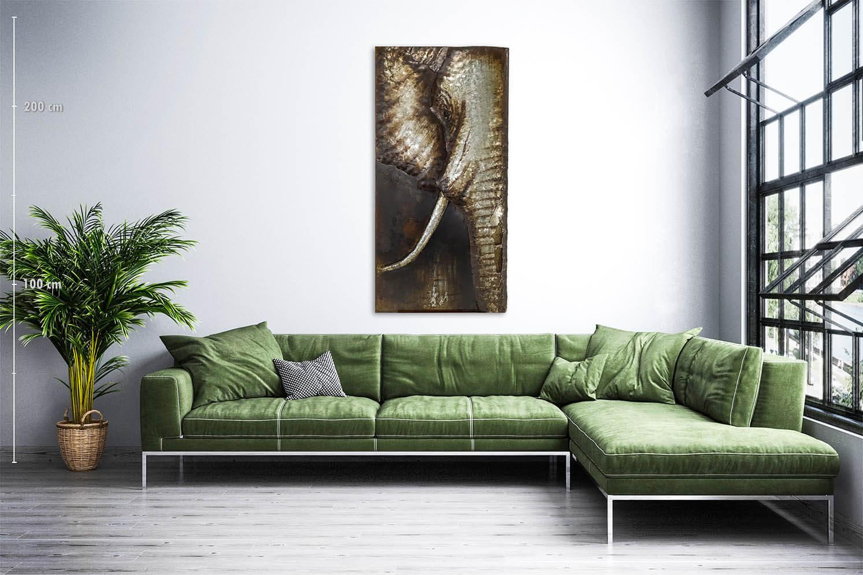 obraz metalowy 3d