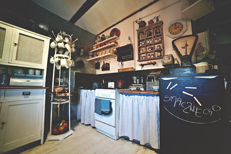 Rustykalna kuchnia Sandrynki