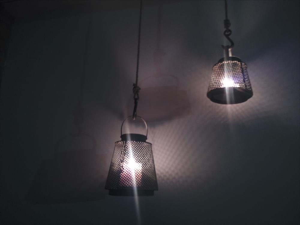 Siatkowe oświetlenie DIY