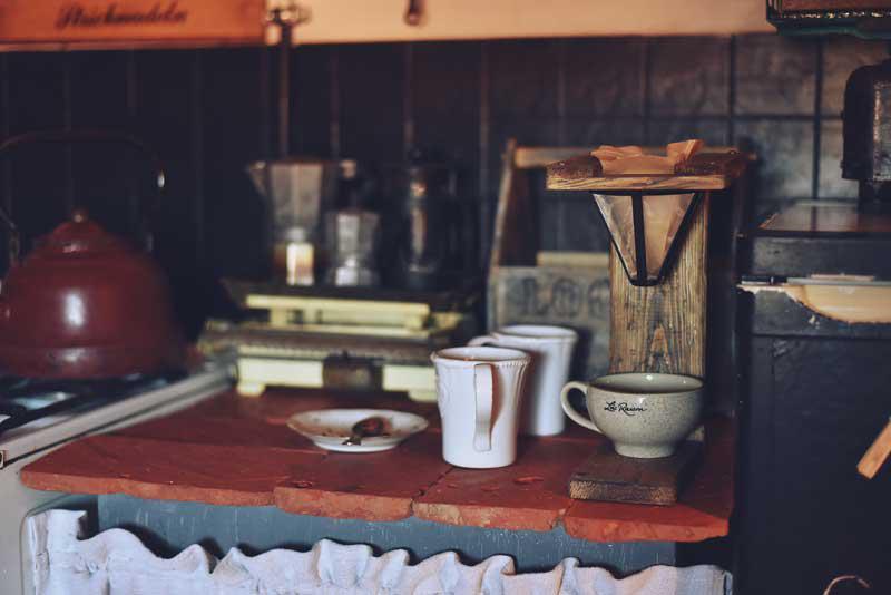 Sandrynkowy ekspres do kawy