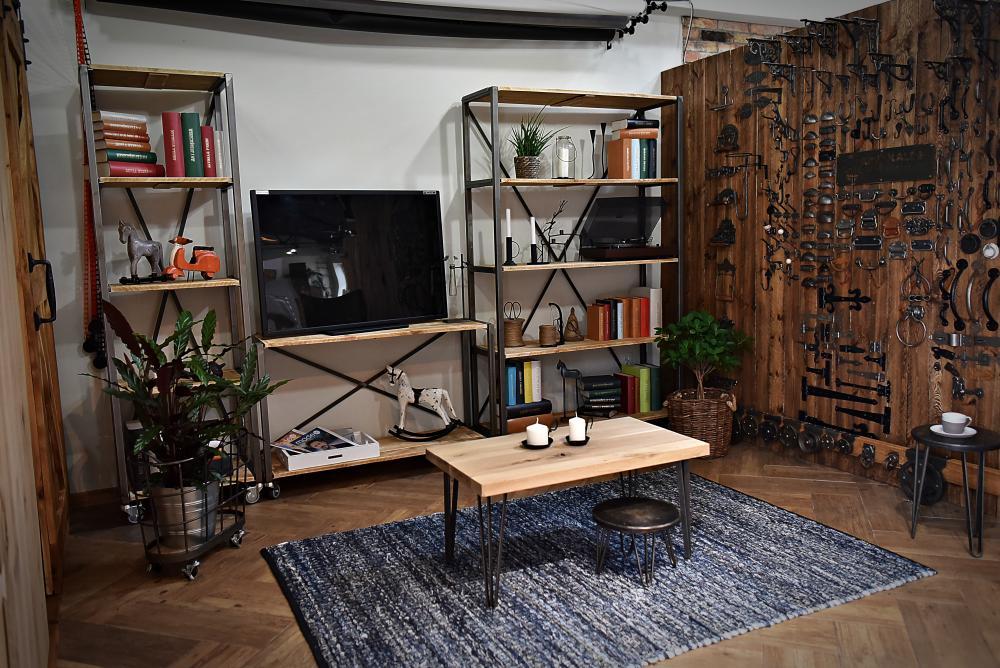 Meble loft oraz akcesoria do mebli