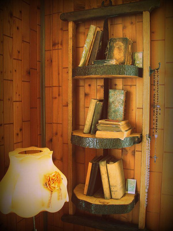 Regał DIY drewniany
