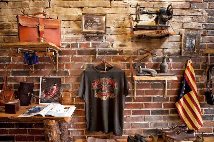 Rustykalny sklep w Los Angeles