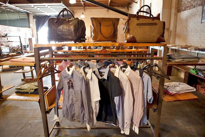 Sklep odzieżowy w LA