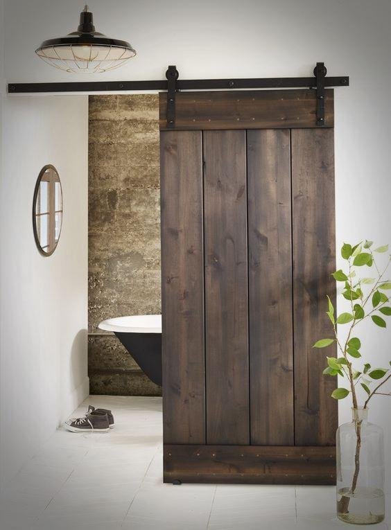 Drzwi przesuwne do łazienki