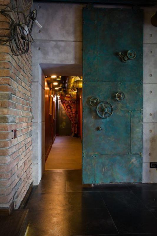 Drzwi metalowe przesuwne
