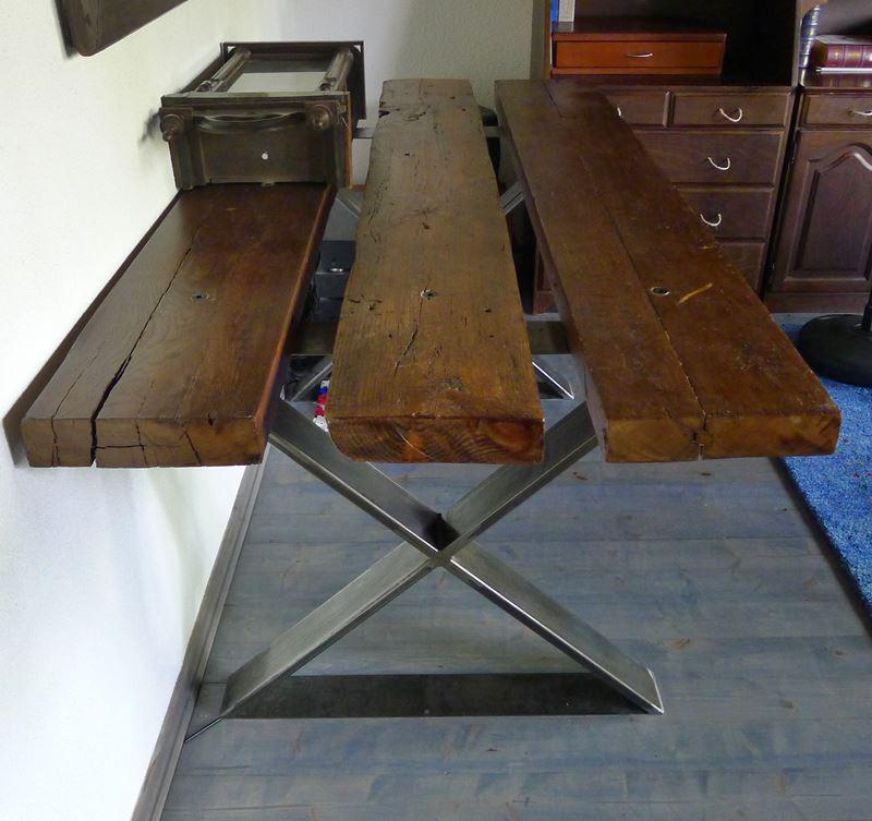 Stół z trzech desek