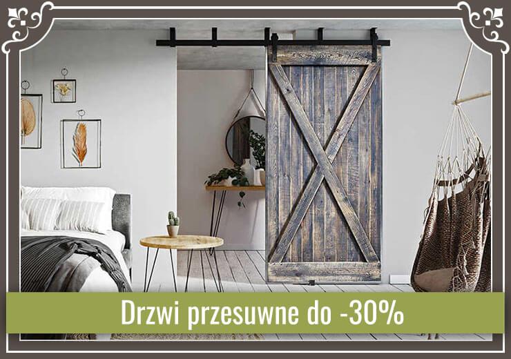 Drzwi przesuwne do -30%