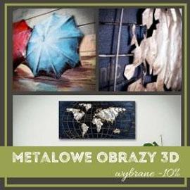 Promocja metalowe obrazy 3d