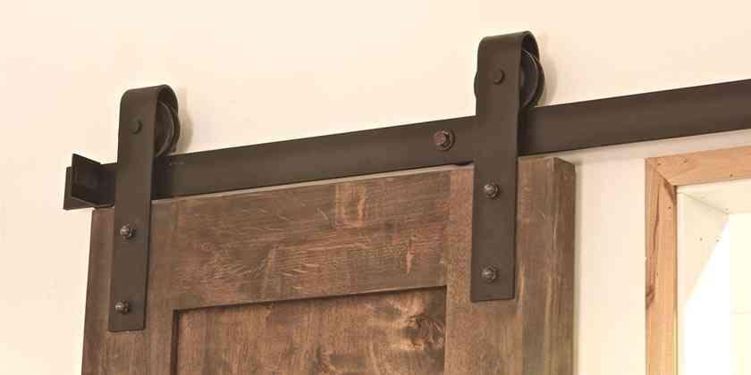 BARN DOORS  - POMYSŁ NA STYLOWE DRZWI