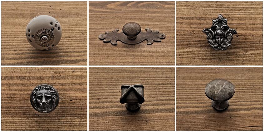Gałki meblowe, które odświeżą wygląd starych mebli