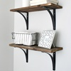 Rustykalne półki DIY – krok po kroku