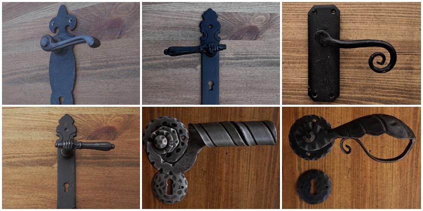 Ogromnie Klamka rustykalna, retro Blog w retro stylu QM68