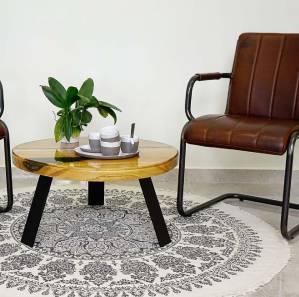 Niebanalny stolik kawowy w salonie – stwórz go sam!
