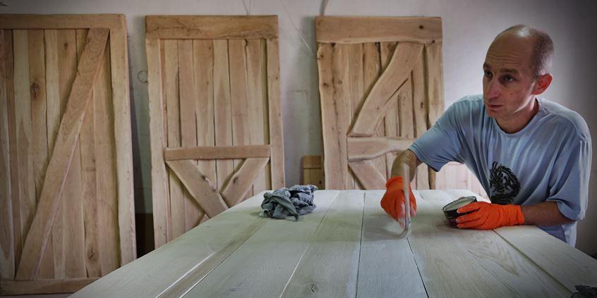 jak zaolejować drewno