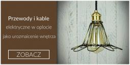 Lampa czarna w starym stylu