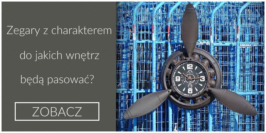 zegary industrialne z charakterem