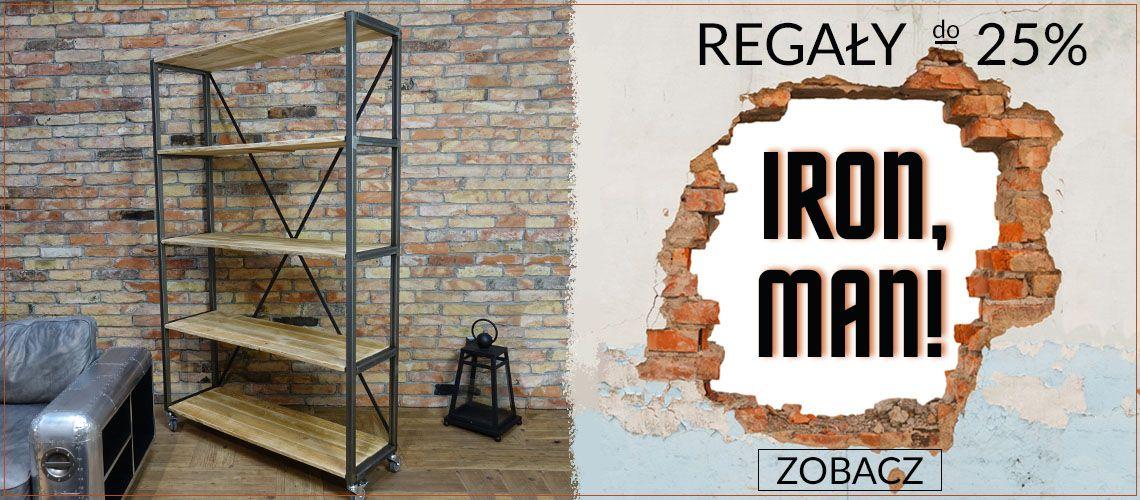 Regały Iron do -25%
