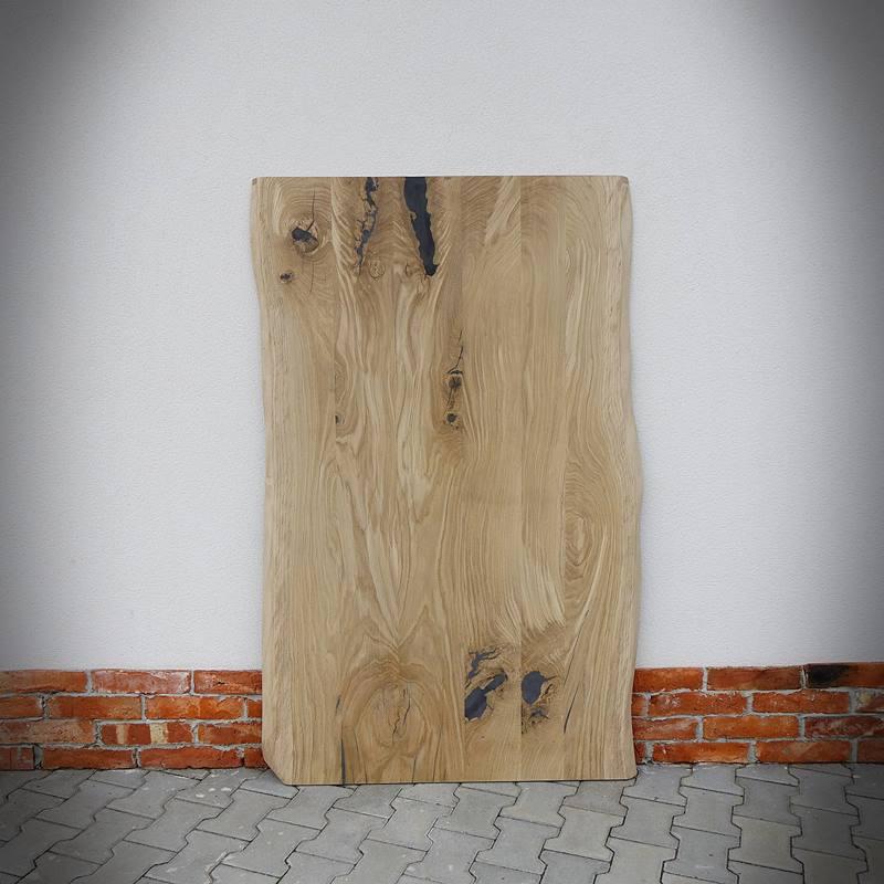 blat drewniany ze szpachlą