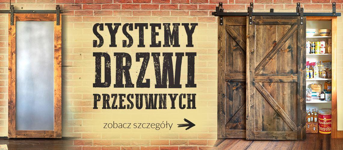 Systemy drzwi przesuwnych w retro stylu