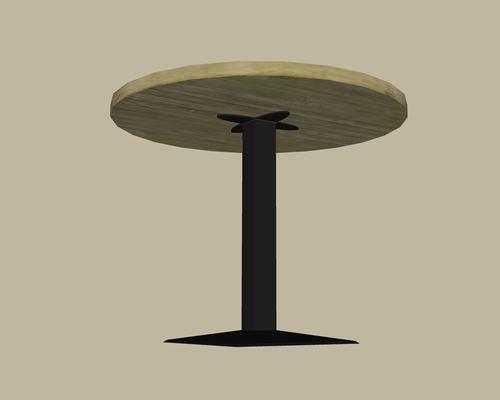 noga do stołu okrągłego drewnianego